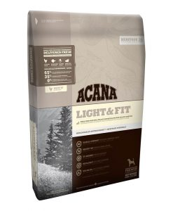 Acana Light and Fit pentru caini fara cereale