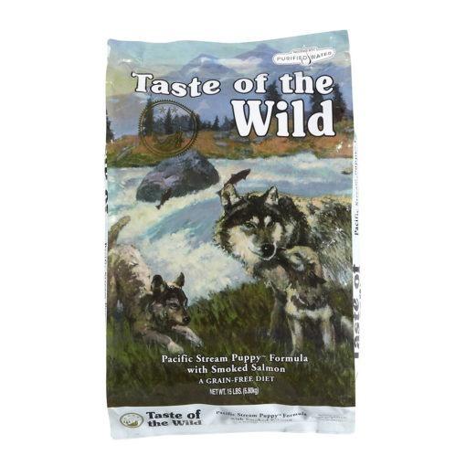 Taste Of The Wild Pacific Stream Puppy hrana pentru caini juniori cu somon