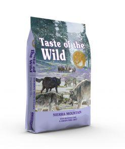 Hrana uscata caini Taste of the wild Sierra Mountain