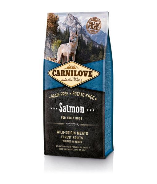 hrana-caini-adulti-fara-cereale-carnilove-cu-carne-de-somon-salmon-catelulgras-ro