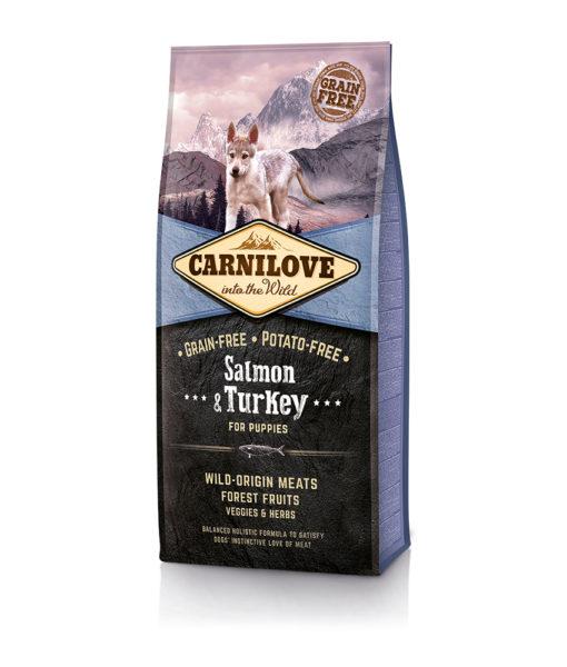 hrana-caini-juniori-fara-cereale-carnilove-cu-carne-de-somon-curcan-turkey-salmon-catelulgras-ro