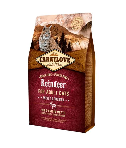 hrana-pisici-carnilove-fara-cereale-cu-carne-de-ren-reindeer-energy-outdoor-catelulgras-ro