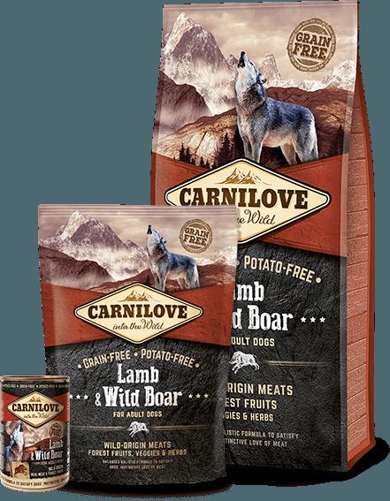 carnilove miel si mistret pentru caini fara cereale catelulgras