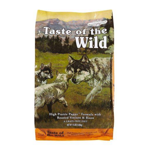 hrana caini taste of the wild high prairie puppy 2 kg pentru caini juniori