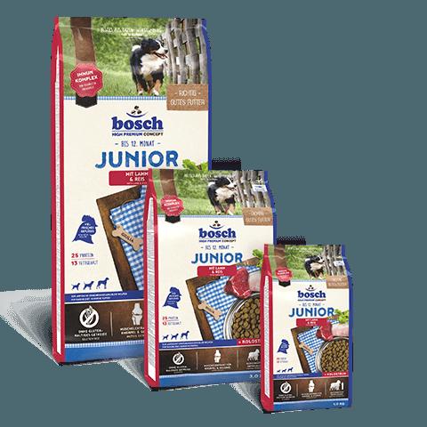 Hrana-caini-bosch-premium-junior-miel-orez