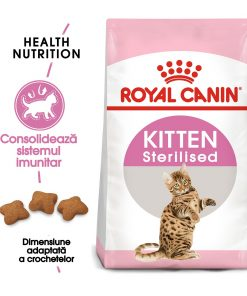 hrana uscata pisici sterilizate royal canin kitten sterilised