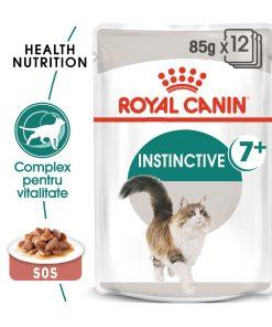 hrana umeda pisici royal canin instinctive gravy 7+