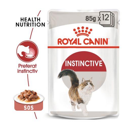 hrana umeda pisici Royal Canin Instinctive in Gravy Pouch