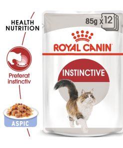 hrana umeda pisici royal canin instinctive jelly