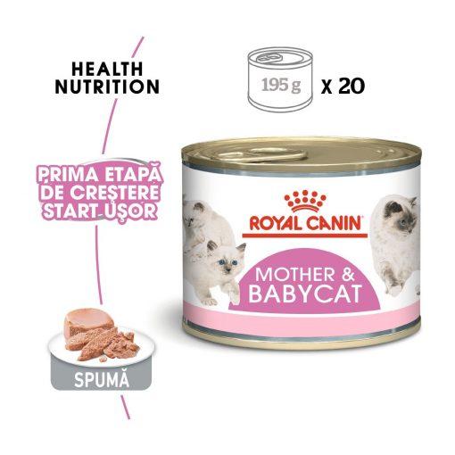 hrana umeda royal canin mother and baby pate