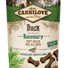 snacks caini carnilove semi moist rata