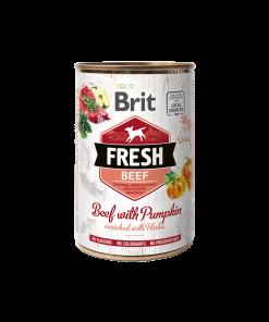conserva Brit Fresh beef with Pumpkin