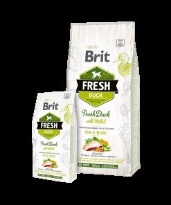Hrana Uscata pentru caini Brit Fresh Duck Millet