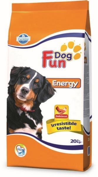 hrana uscata caini fun dog energy 20 kg