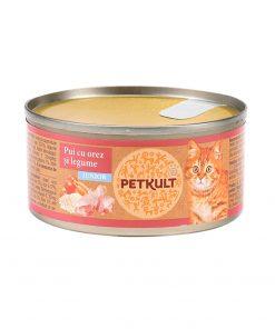 Conserva pisici Petkult Cat Kitten cu Pui