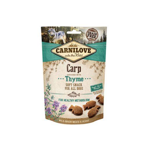 Carnilove Dog Semi Moist Snack Carp with Thyme