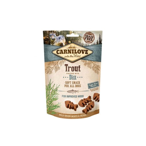 Carnilove Dog Semi Moist Snack Trout with Dill