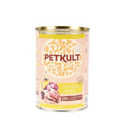Conserva caini Petkult Dog adult Rata
