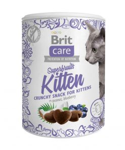 Recompense pisici Brit Care Cat Snack Superfruits Kitten