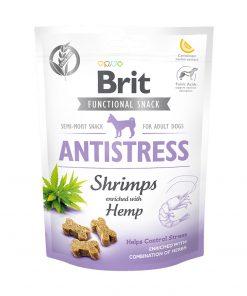Recompense caini Brit Care Dog Snack Antistress Shrimps
