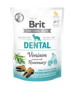 Recompense caini Brit Care Dog Snack Dental Venison