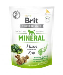 Recompense caini Brit Care Dog Snack Mineral Ham for Puppies