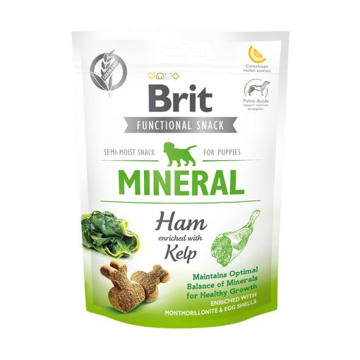 Recompense caini Brit Care Dog Snack Mineral Ham for Puppies
