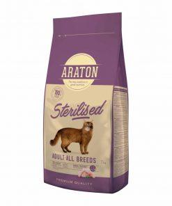 Hrana uscata pisici Araton Cat Adult Sterilised