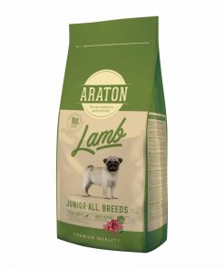 Hrana uscata caini Araton Dog Junior Lamb
