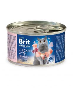 hrana umeda pisici Brit Premium By Nature Cat Chicken with Beef