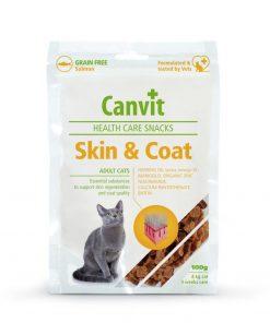 canvit healthe care skin and coat pentru pisici
