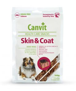 Recompense caini Canvit Health Care Snack Skin and Coat