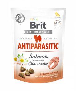 Recompense caini Brit Care Dog Snack Antiparasitic Salmon