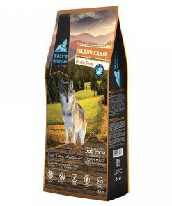 Hrana uscata caini Wolf's Mountain Island Farm