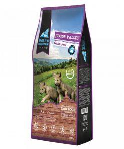Hrana uscata caini Wolf's Mountain Junior Valley