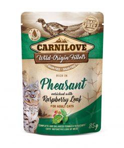 hrana umeda pisici carnilove cu fazan