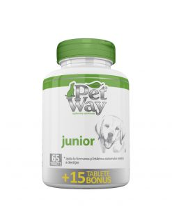 PetWay Junior este un supliment nutritional recomandat pentru caini
