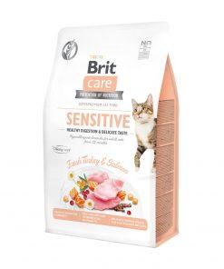 Brit Care GF Sensitive Healthy Digestion and Delicate Taste hrana pisici
