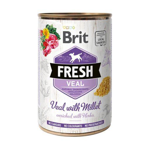 Brit Fresh Veal with Millet 400 gr