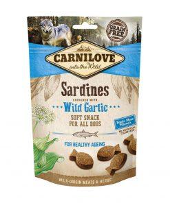 Carnilove Dog Semi Moist Sardines with Wild Garlic 200 gr