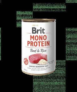 conserva caini brit mono protein vita orez