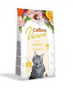 Calibra Cat Verve GF Sterilised Chicken and Turkey pentru pisici setrilizate