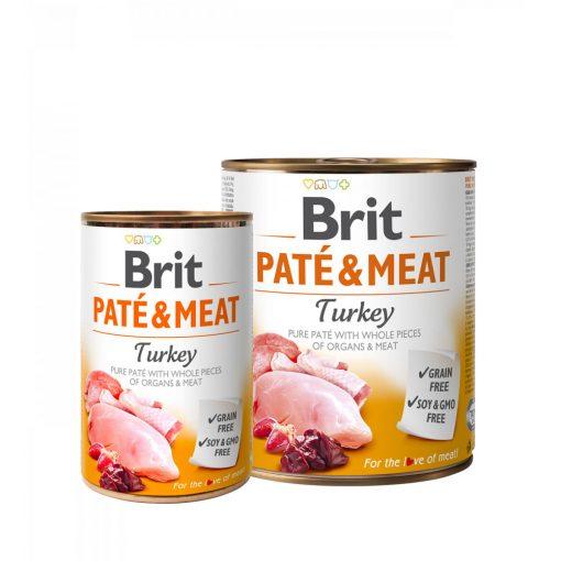 conserva brit pate meat trukey cu carne de curcan