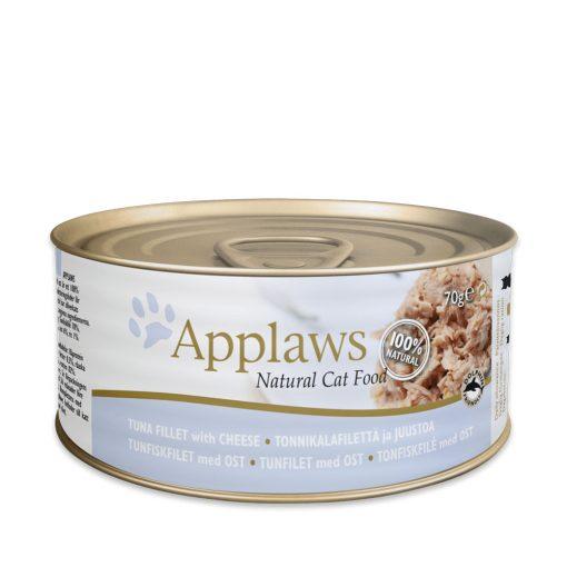 applaws conserva pisici cu file de ton si branza