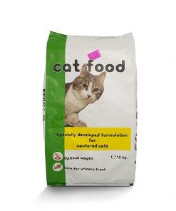 ljubimetz hrana pisici sterilizate
