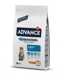 hrana uscata pisici advance pui si orez pentru pisici adulte