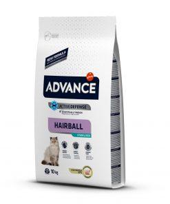 hrana uscata pisici advance cat hairball setrilized pentru pisici sterilizate 10 kg