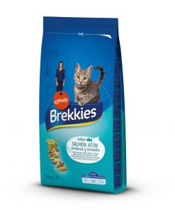 hrana uscata pisici Brekkies Cat Somon si Ton