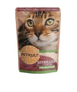 hrana umeda pisici sterilizate petkult rata