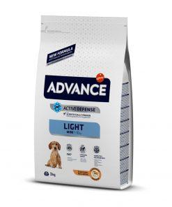 hrana caini advance dog mini light